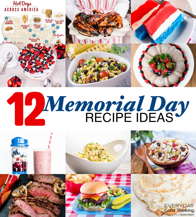 12 Recipes for the Perfect Memorial Day Weekend Cookout