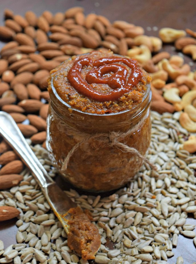 Sriracha six seed and nut butter