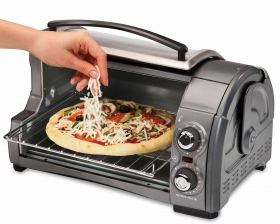 Easy Reach Toaster Oven from Everyday Good Thinking, the official blog of @hamiltonbeach