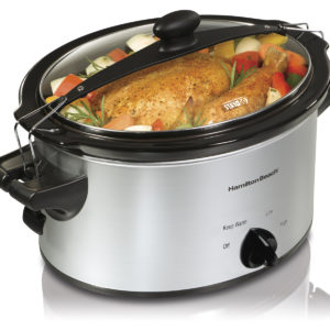 Hamilton Beach Stay or Go® 4 qt Slow Cooker 33249