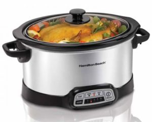 Hamilton Beach 6 Quart Programmable Slow Cooker 33463