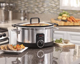 Hamilton Beach Stovetop Safe Programmable Slow Cooker 33567