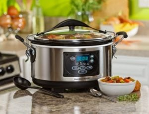 Hamilton Beach Set & Forget Programmable Slow Cooker 33967