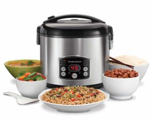 Digital Simplicity 4-20 Cup Rice Cooker and Food Steamer