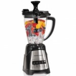The new @HamiltonBeach MultiBlend™ Blender prepares smoothies and icy drinks as well as it prepares food, thanks to its powerful blending functions and stir spoon.