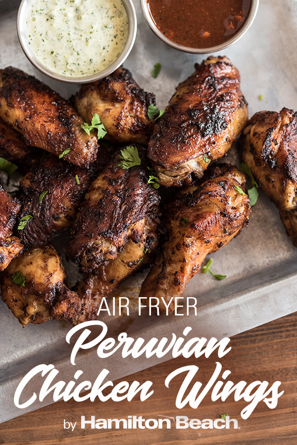 Air Fryer Peruvian Chicken Wings