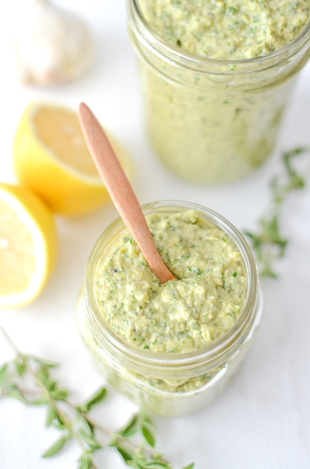 Artichoke Pesto from Simply Whisked