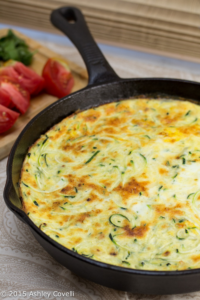 Zoodle Frittata from Big Flavors from a Tiny Kitchen