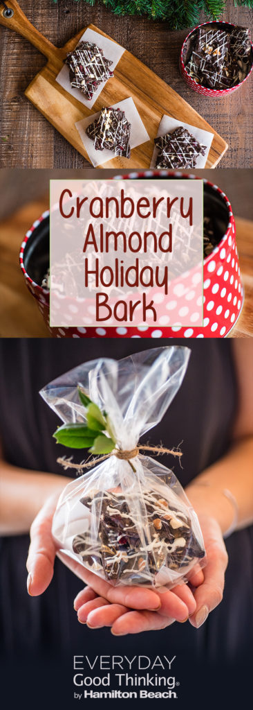 Holiday Gifts: Cranberry Almond Holiday Bark