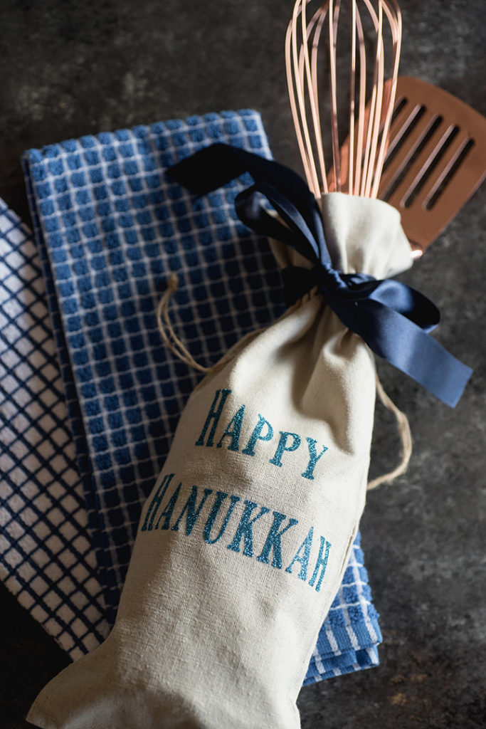 DIY Iron-On Holiday Gift Bags