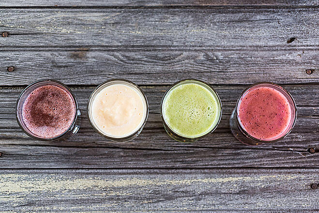 Freezer Pack Smoothies