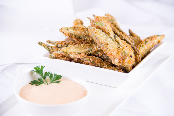 Fried Okra from Food Focus: Okra by Everyday Good Thinking | @HamiltonBeach