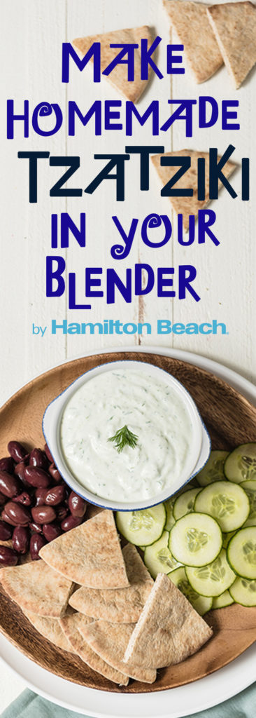 Make Homemade Tzatziki in your Blender