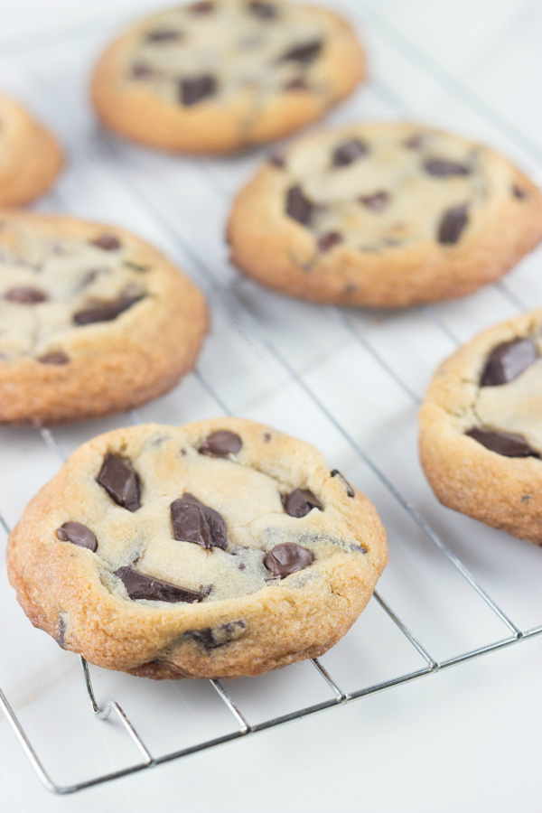 Chocolate Chip Cookie Dough Cookies from Sweet as Cookie