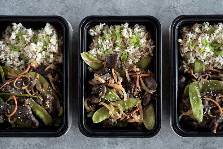 Mongolian Beef Sheet Pan Supper