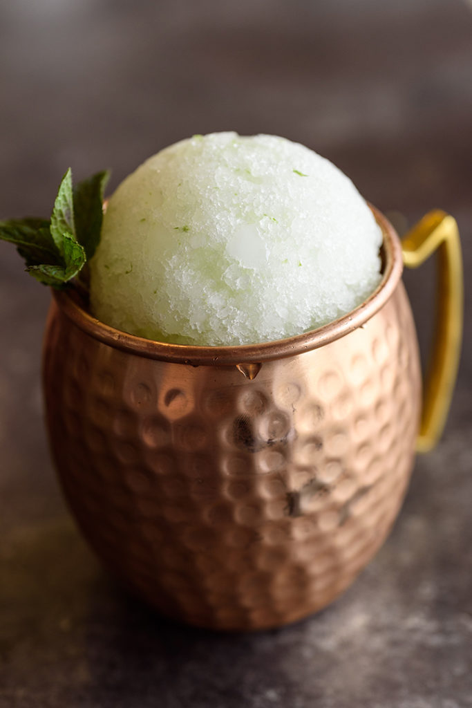 Moscow Mule Snow Cone