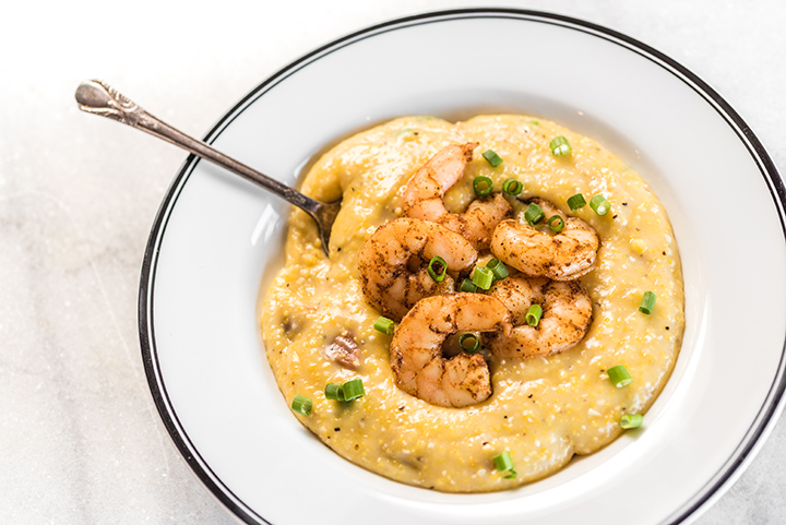 Rice Cooker Shrimp and Grits