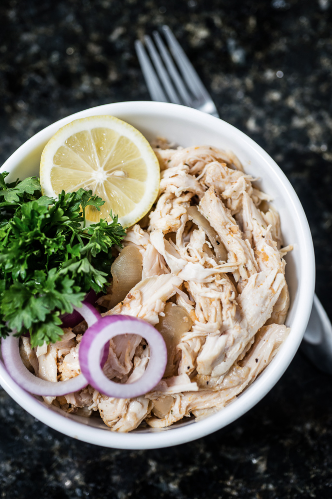 Basic Slow Cooker Shredded Chicken from Everyday Good Thinking, the official blog of @hamiltonbeach