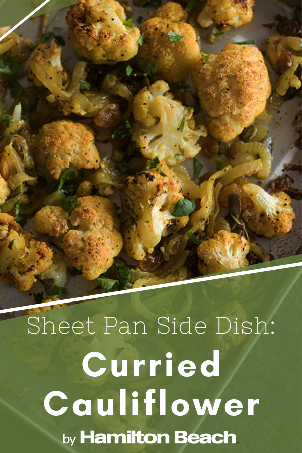 Sheet Pan Side Dish - Curried Cauliflower