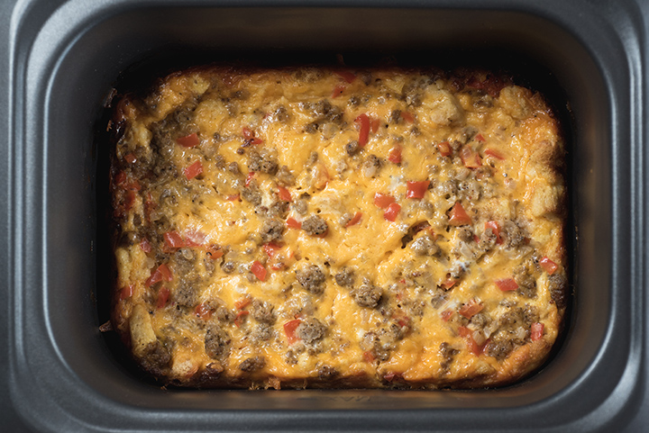 Slow Cooker Breakfast Casserole