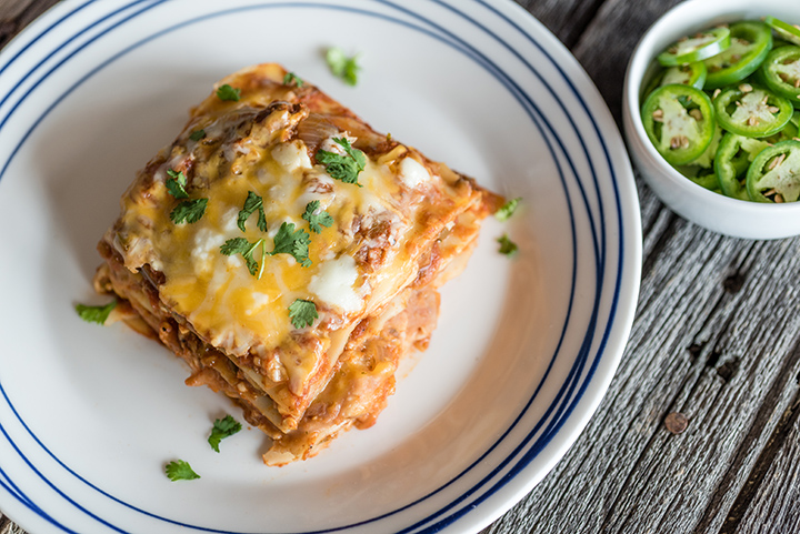 Slow Cooker Mexican Lasagna