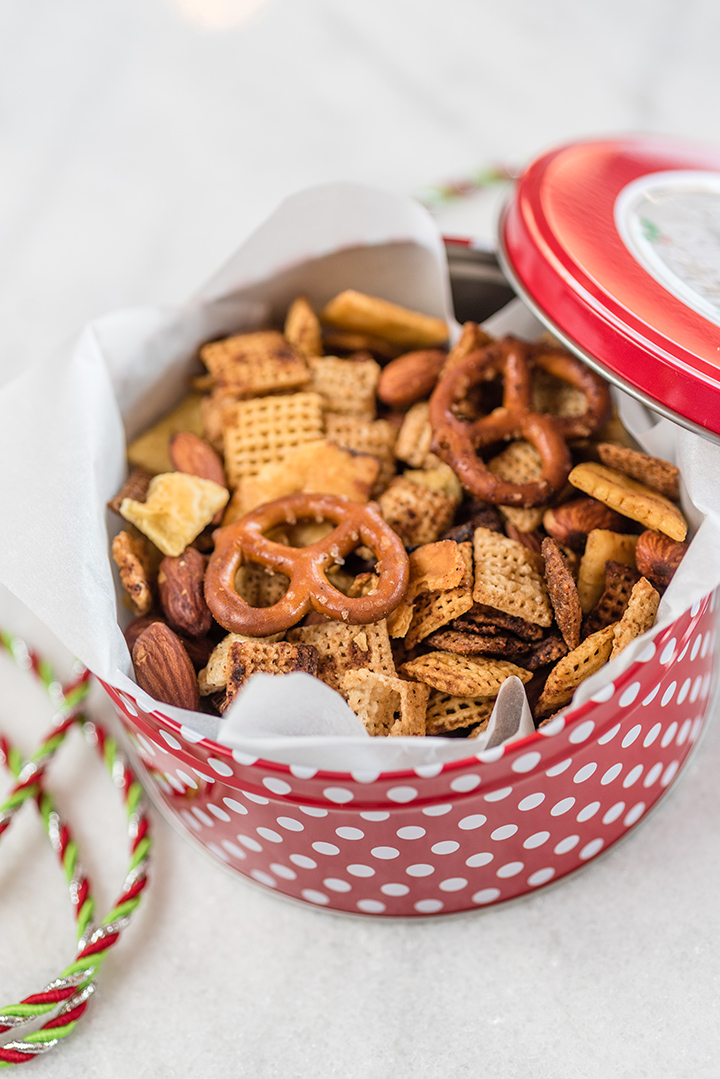 Slow Cooker Chex Mix® Party Mix | @hamiltonbeach
