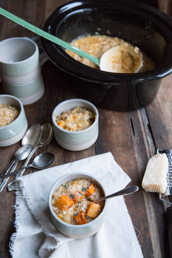 Center Stage: Slow Cooker Butternut Squash Risotto with The Vintage Mixer - on Everyday Good Thinking, the official blog of @hamiltonbeach