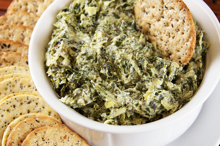 Spinach Artichoke Dip and other Football Tailgating Recipe Ideas from Everyday Good Thinking, the official blog of @HamiltonBeach