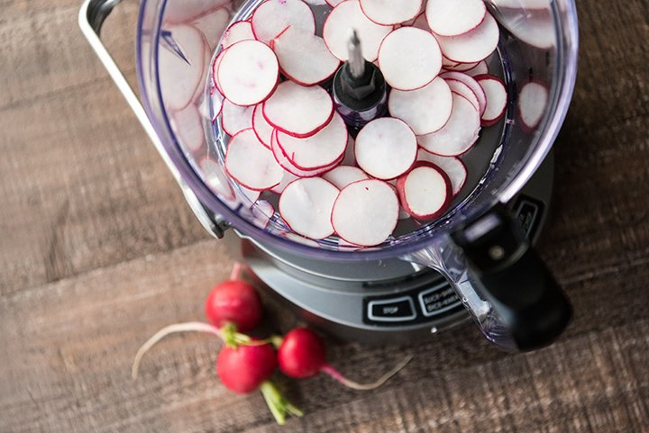 Radishes for Spring Green Salad