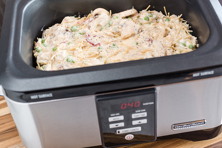 Turkey Tetrazzini in HB Pro Slow Cooker