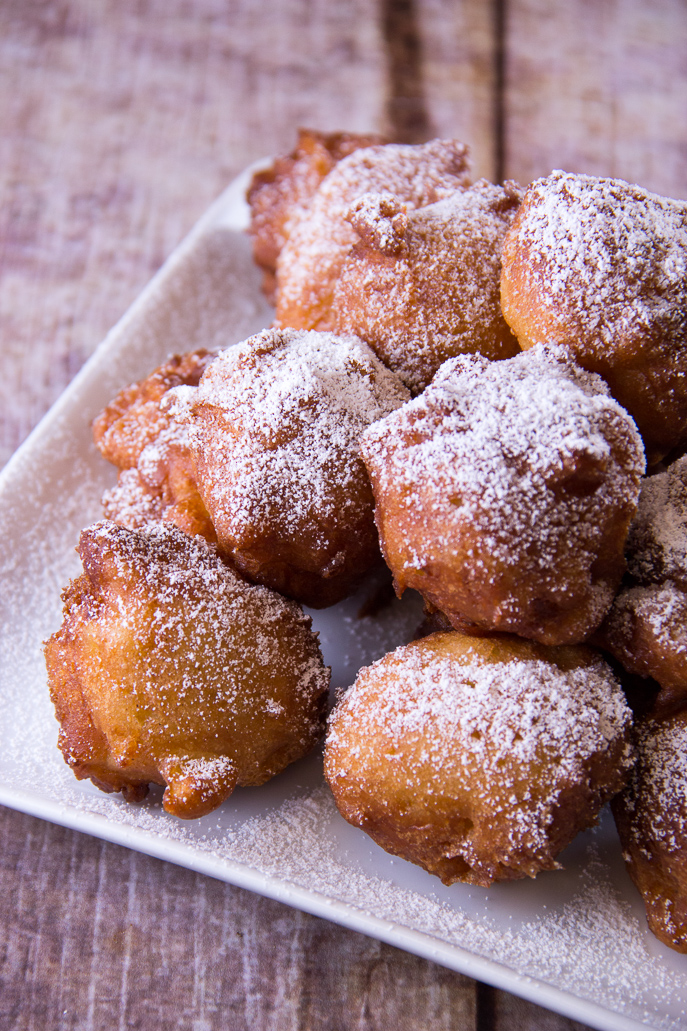 Apple Fritters from Everyday Good Thinking, the official blog of @HamiltonBeach