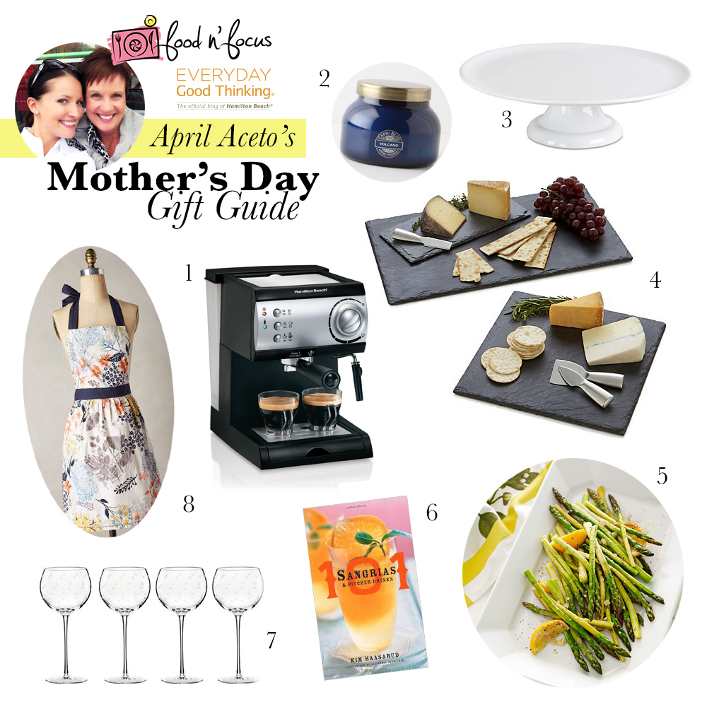 Center Stage: Mother's Day Gift Guide and Espresso Juleps with Food n' Focus