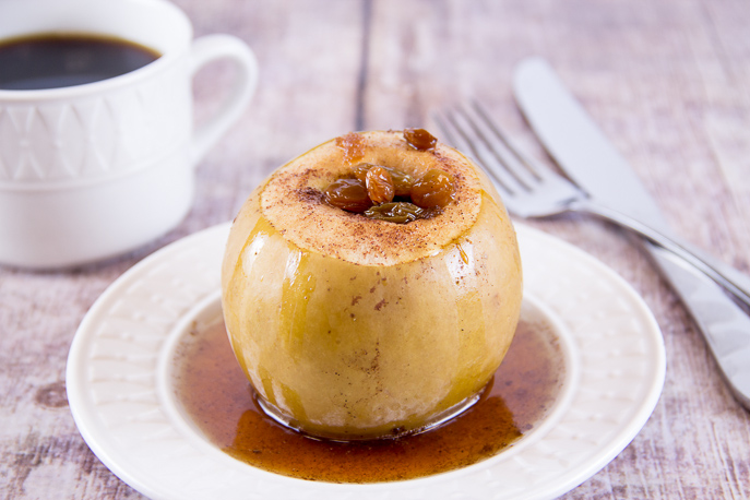 Slow Cooker Baked Apples from Everyday Good Thinking, the official blog of @hamiltonbeach