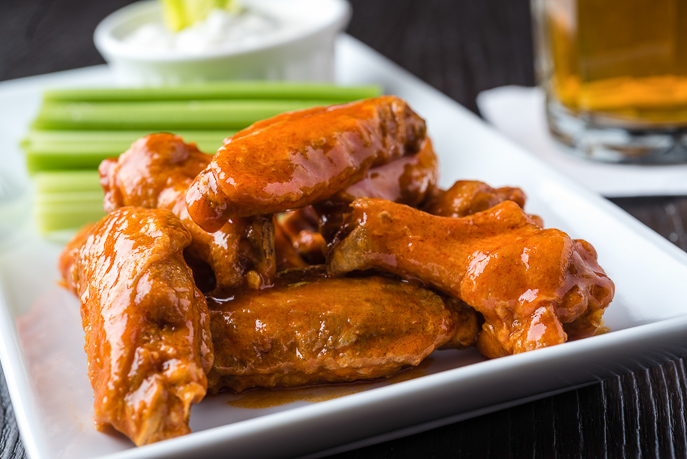 Buffalo Chicken Wings from Everyday Good Thinking, the official blog of @hamiltonbeach