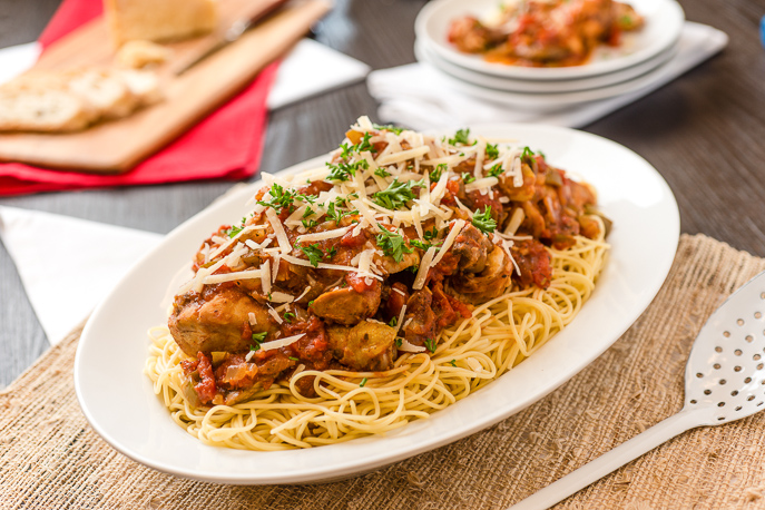 Slow Cooker Chicken Cacciatore from Everyday Good Thinking, the official blog of @hamiltonbeach