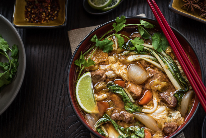 Slow Cooker Chinese Pork Stew from Everyday Good Thinking by @hamiltonbeach