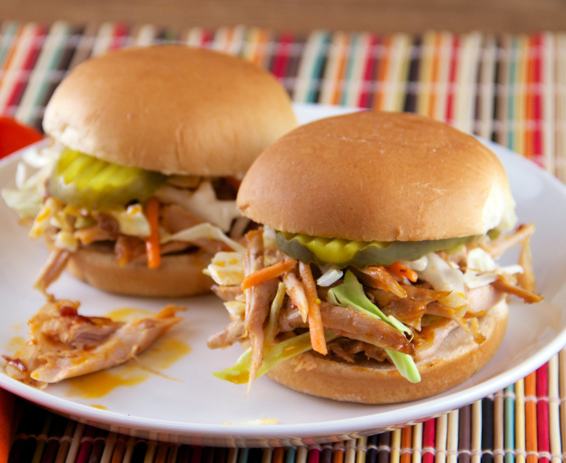 Slow cooker chipotle turkey barbecue #bbq @hamiltonbeach everydaygoodthinking.com