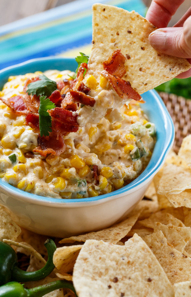Slow Cooker Corn Dip from Spicy Southern Kitchen