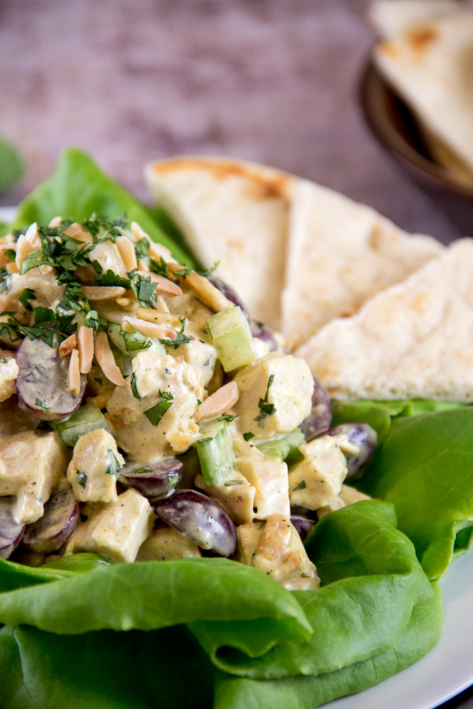 Curried Chicken Salad - Easy Recipes for Chicken Leftovers from Everyday Good Thinking, the official blog of @HamiltonBeach