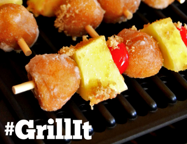 Center Stage: Searing Grill Pineapply Upside Down Donut Skewers with @domestic_rebel on Everyday Good Thinking, the official blog of @hamiltonbeach