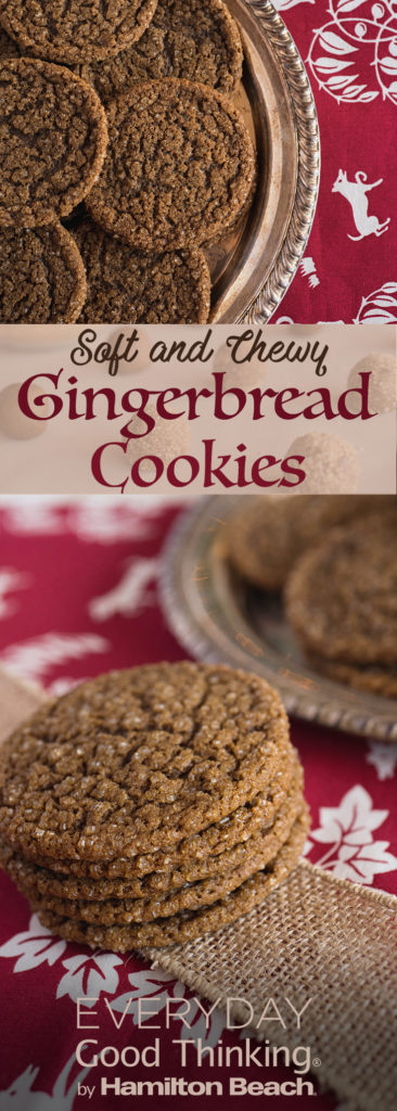 Best Ever Soft and Chewy Gingerbread Cookies