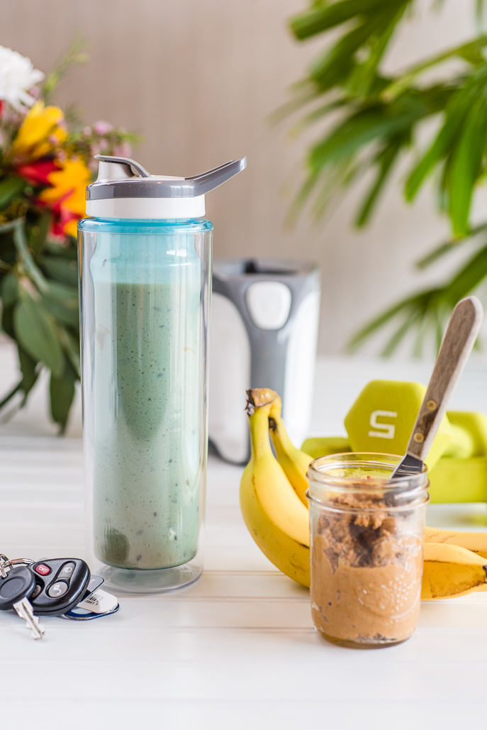 Peanut Butter and Banana Breakfast Smoothie
