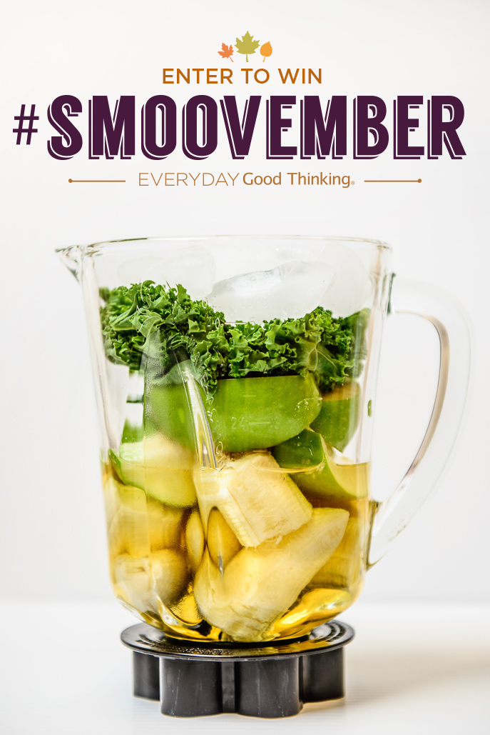 Green Apple Kale Smoothie from @HamiltonBeach #smoovember