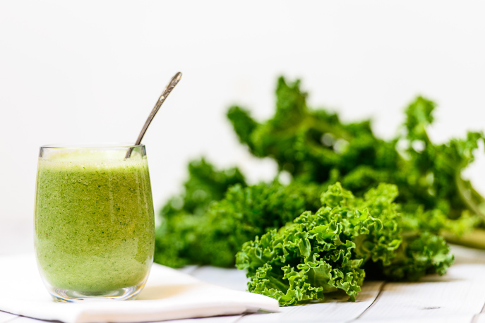 Green Apple Kale Smoothie