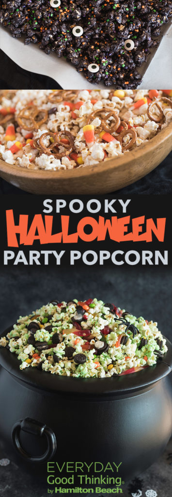 Halloween Party Popcorn Ideas