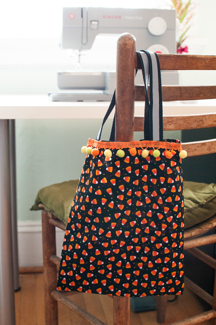 Halloween Trick-or-Treat Bags DIY from Everyday Good Thinking, the official blog of @hamiltonbeach