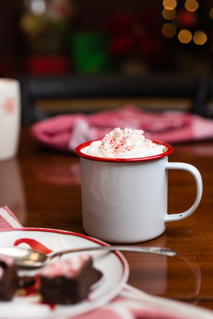 Hot Peppermint Mocha Coffee from Everyday Good Thinking, the official blog of @hamiltonbeach