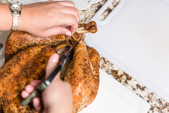 How to Carve a Turkey with an Electric Knife from Everyday Good Thinking, the official blog of @hamiltonbeach