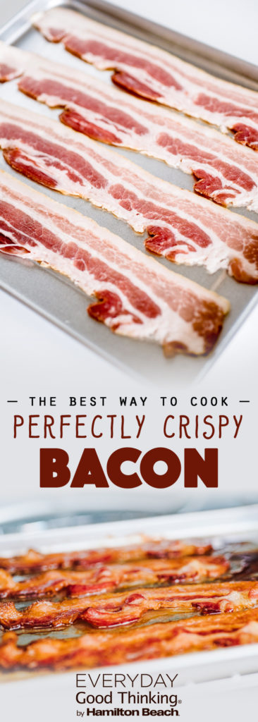how to cook perfectly cripsy bacon