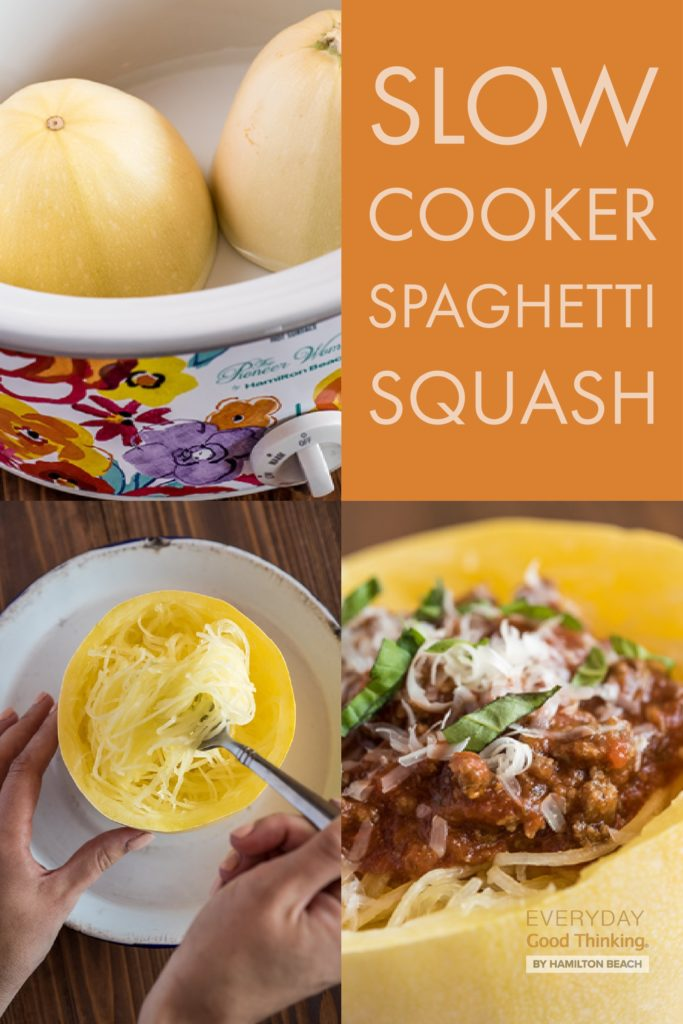 how to make slow cooker spaghetti squash